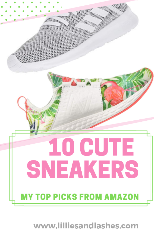 c2bc704ee 10 Cute Women s Athletic Sneakers From Amazon - Lillies and Lashes